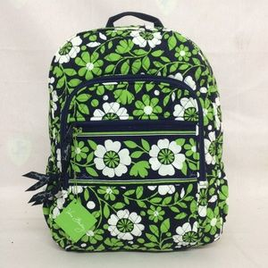 NWT Vera Bradley Campus Backpack Lucky You